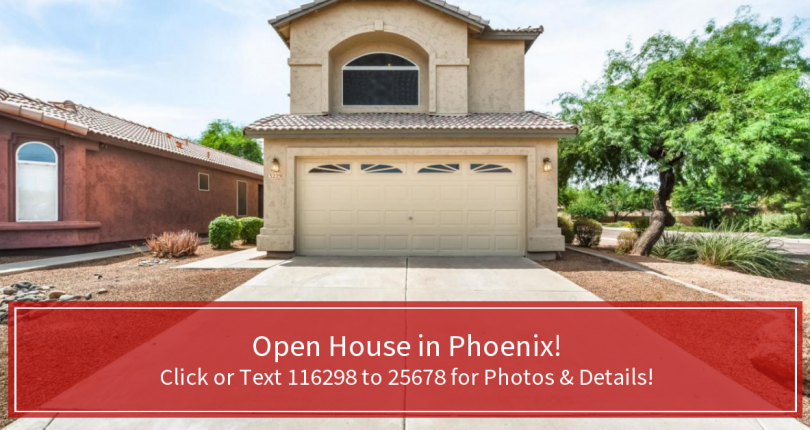 Open House North Phoenix Saturday & Sunday, August 17-18 10am-2pm