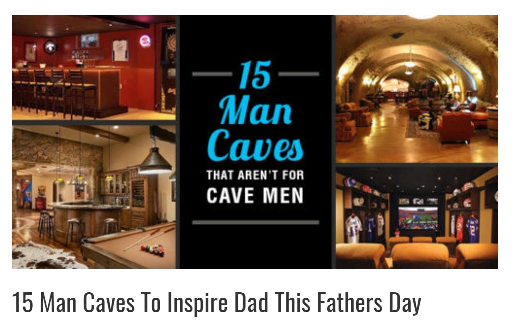 15 Man Caves To Inspire Dad This Fathers Day