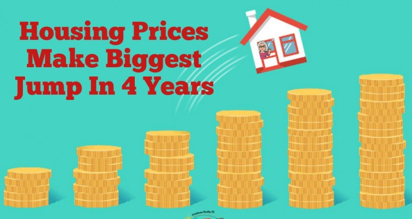 Housing Prices Make Biggest Jump In 4 Years