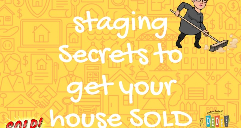 4 Staging Secrets To Get Your House SOLD