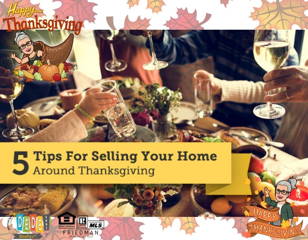 5 tips for selling your home around thanksgiving
