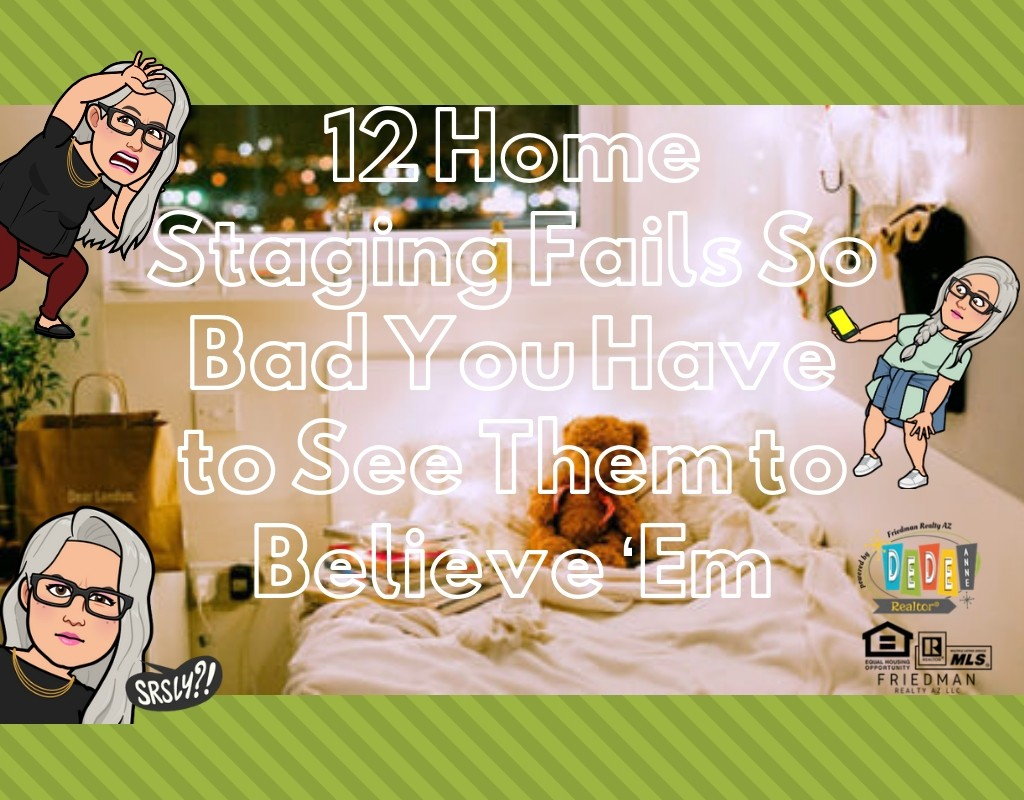 12 Home staging fails