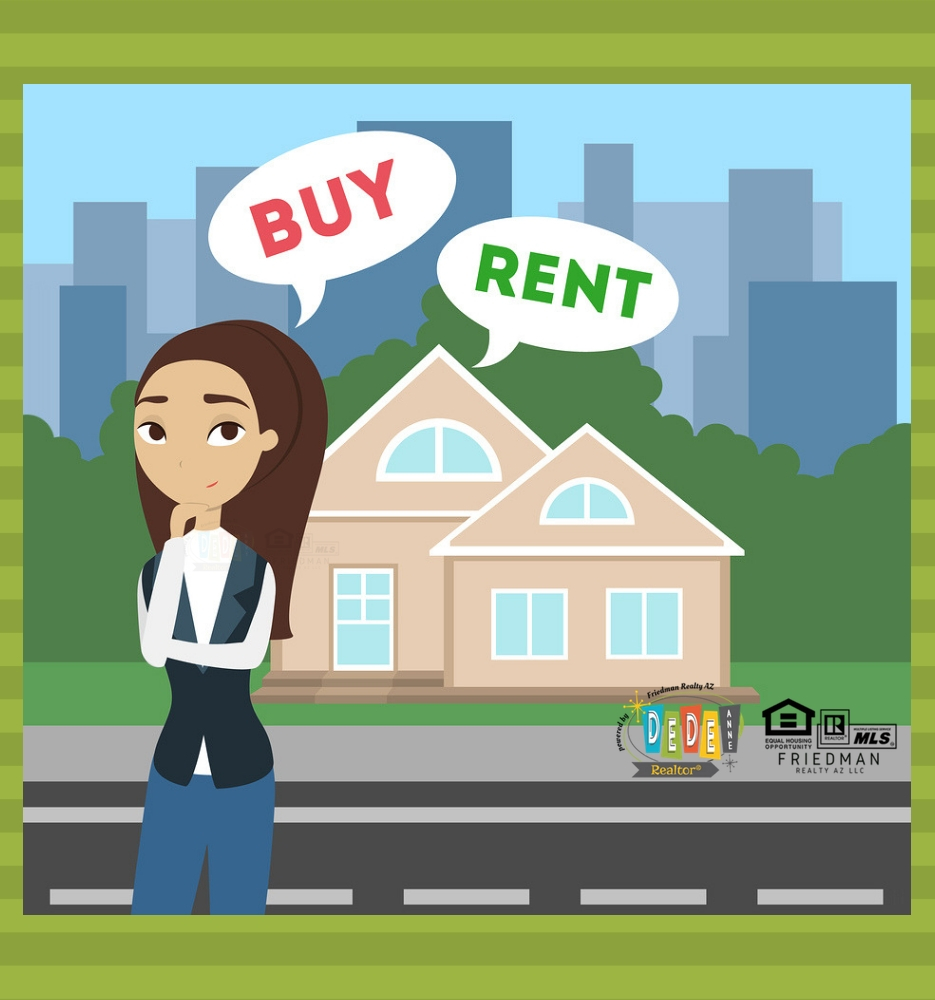 Does Renting or buying make more sense for you? Find out in this free guide from DeDe Forwood Realtor in Phoenix