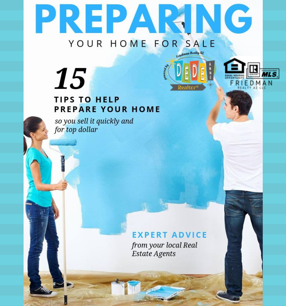 prepare your home for sale DeDe Forwood Phoenix Realtor AZ Real Estate Agent