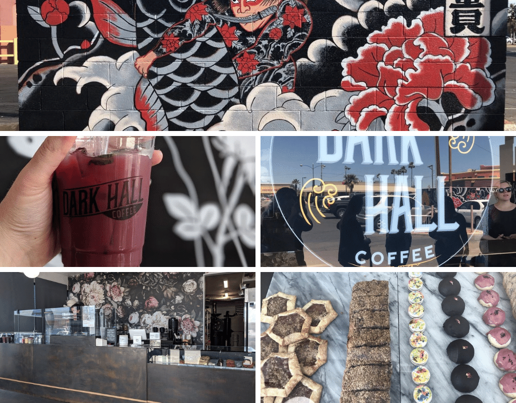 Dark Hall Coffee