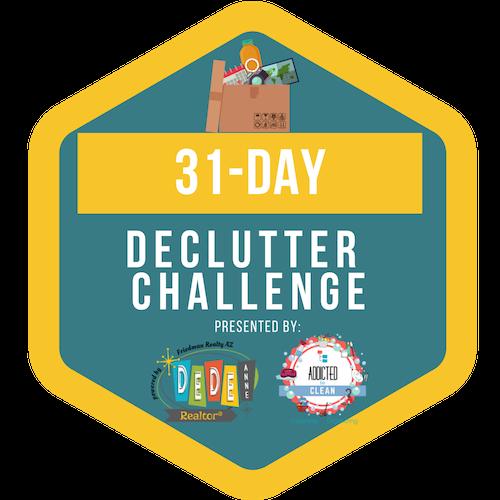 31 day declutter challenge