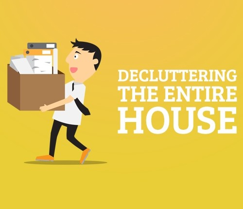 Decluttering your entire house vlog