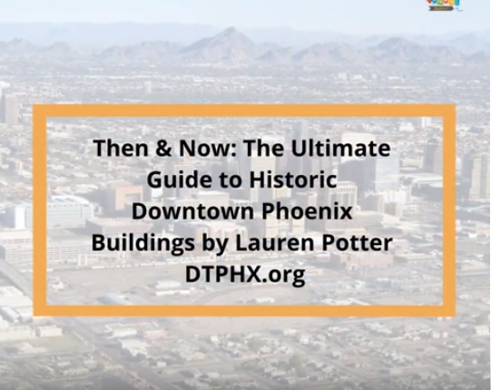 Downtown Phoenix historic buildings